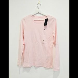 NWT Tommy Hilfiger Long Sleeve Cotton T-shirt Sz L